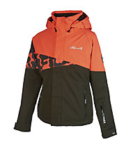Rehall Ruby - Skijacke - Mädchen, Black/Orange