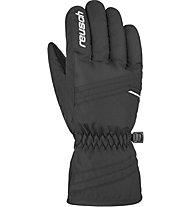 Reusch Alan - guanti da sci - bambino, Black/White