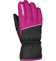 Reusch Alan - guanti da sci - bambino, Black/Pink