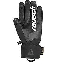 Reusch Alexis Pinturault GTX + Gore Grip Tech - guanti da sci - uomo, Black/Black