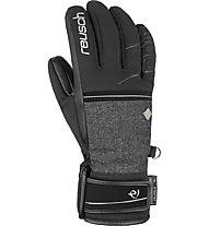 Reusch Anna Veith R-TEX® XT - guanti da sci - donna, Black/Dark Grey
