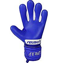 Reusch Attrakt Grip Evolution Finger Support Jr - Torwarthandschuhe - Kinder, Blue