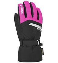 Reusch Bolt GTX - guanti da sci - bambino, Black/Pink