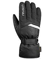 Reusch Bolt GTX - guanti da sci - uomo, Black/White