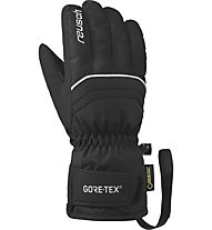 Reusch Chris II GTX - Skihandschuh - Kinder, Black/White