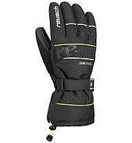 Reusch Connor R-TEX XT - guanti da sci - uomo, Black/Green