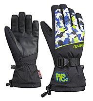 Reusch Ede R-TEX - guanti da sci - bambino, Black/Green