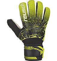 Reusch Fit Control SD - guanti portiere calcio, Black/Green