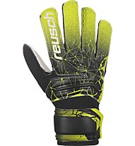 Reusch Fit Control SD Open Cuff Junior - Torwarthandschuhe - Kinder, Black/Yellow