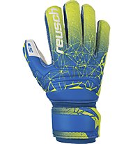 Reusch Fit Control SG Finger Support Junior - Torwarthandschuhe - Kinder, Blue/Yellow