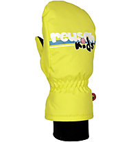 Reusch Kids Mitten, Neon Yellow