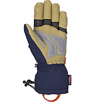 Reusch Guanti freeride Lech R-Tex XT, Dress Blue/Ochre
