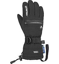 Reusch Luis R-TEX XT - guanti da sci - bambino, Black/White