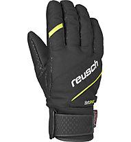 Reusch Luke R-Tex XT Skihandschuhe, Black/Neon Yellow