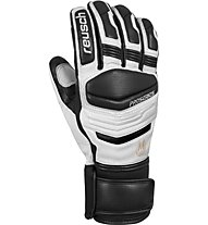 Reusch Master Pro - guanti da sci - uomo, White/Black