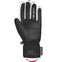 Reusch Mikaela Shiffrin R-TEX® XT - guanti da sci - donna, Black/White/Blue