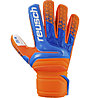 Reusch Prisma SG Finger Support - Torwarthandschuhe, Orange/Blue