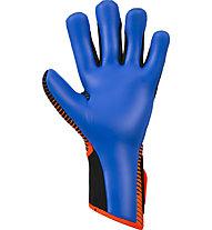 Reusch Pure Contact 3 S1 - guanti da portiere calcio, Black/Orange/Blue