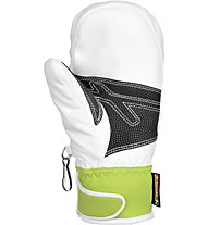 Reusch Race R-TEX XT Junior Mitten (2014), White/Neon Green
