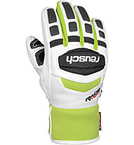 Reusch Race R-TEX XT Junior (2014) - Guanti da Sci, White/Neon Green