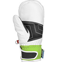 Reusch Moffole sci Race R-TEX XT Junior Mitten, White/Neon Green