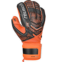 Reusch Reload Prime S1 guanti da portiere, Black/Orange