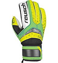 Reusch Repulse SG Finger Support - guanti portiere, Green/Yellow