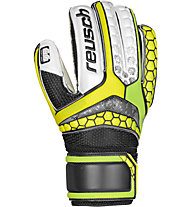 Reusch Repulse SG Finger Support Jr - Kinder-Torwarthandschuhe, Yellow/Green