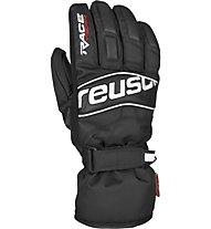 Reusch Ski Race - guanti da sci - uomo, Black/White
