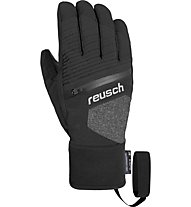 Reusch Theo R-TEX XT - guanti da sci - uomo, Black/Grey