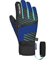 Reusch Theo R-TEX XT - guanti da sci - bambino, Light Blue/Black