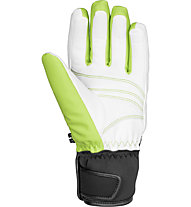 Reusch Tomke Stormbloxx Damen-Skihandschuhe, Neon Green/White