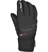 Reusch Tomke Stormbloxx - guanti da sci - donna, Black