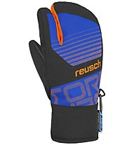 Reusch Torbenius R-TEX XT - guanti lobster da sci - bambino, Light Blue/Orange