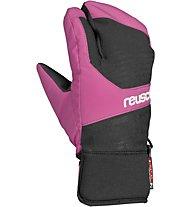 Reusch Torbenius R-TEX XT - guanti lobster da sci - bambino, Black/Pink