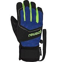 Reusch Torby R-TEX® XT J - Skihandschuhe - Kinder, Black/Blue/Green