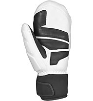 Reusch World Champ Mitten - moffole da sci - uomo, White/Black
