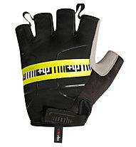rh+ Guanti bici Academy Glove, Black/Fluo Yellow