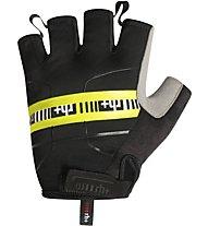 rh+ Academy Glove Fahrradhandschuhe, Black/Yellow