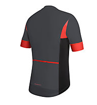 rh+ Maglia bici Academy, Anthracite/Red