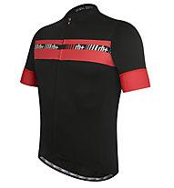 rh+ Maglia bici Academy, Black/Red