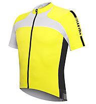 rh+ Agility Jersey Fz - Maglia Ciclismo, Acid Yellow/White