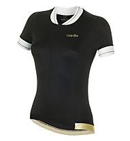 rh+ College W Jersey - Radtrikot - Damen, Black/Yellow