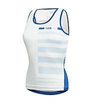 rh+ Top bici/maglia bici Cullinan W Top, White/Pastel Water/Petrol