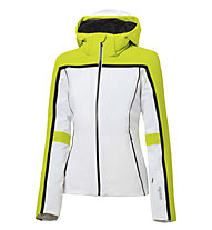 rh+ Eldora W - Skijacke - Damen, White/Yellow