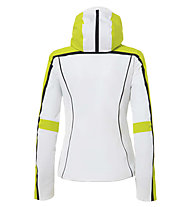 rh+ Eldora W - Skijacke - Damen, White/Yellow