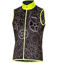 rh+ Emergency Pocket - gilet bici - uomo, Black/Yellow