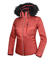 rh+ Emotion Down W Daunen-Skijacke, Red