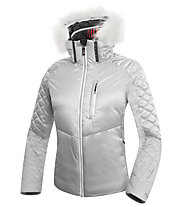 rh+ Giacca in piuma donna Emotion Down W Jacket, Light Grey