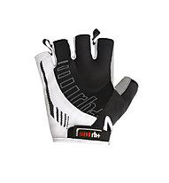 rh+ Ergo Glove Fahrradhandschuh, White/Black